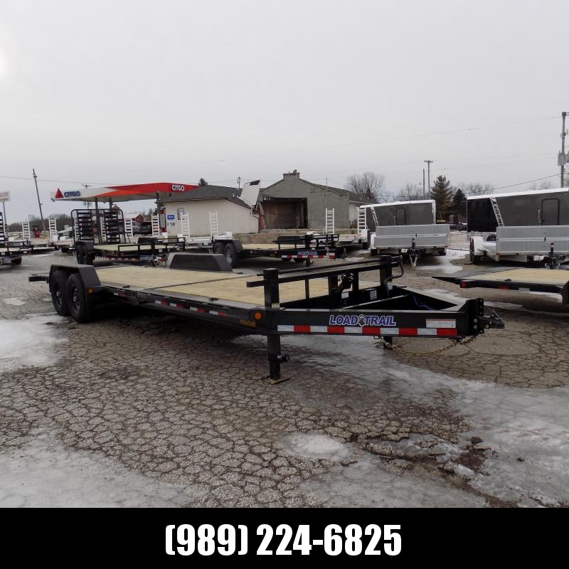 "New Load Trail TH14 83"" x 24' Tilt Deck Trailer- $0 Down Payments From 149/mo W.A.C"