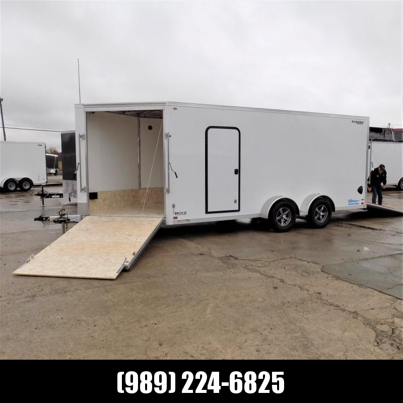New Legend Thunder 7' x 23' Aluminum Snowmobile Trailer - $0 Down & Payments From $139/mo. W.A.C. - America's Largest Selection Of Snow Trailers