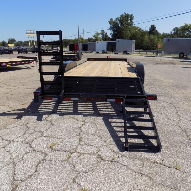 New Big Tex 7' x 20' Equipment Trailer For Sale - $0 Down & Payments From $107/mo. W.A.C.