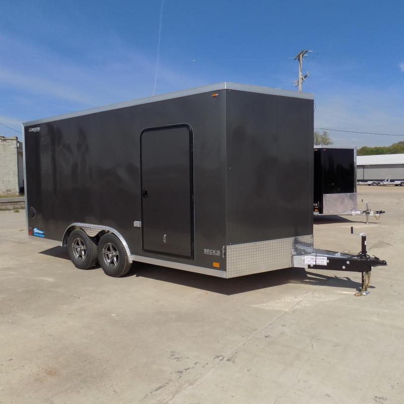 New Legend Thunder 8' X 18' All Aluminum Enclosed Cargo Trailer - $0 Down Financing Available