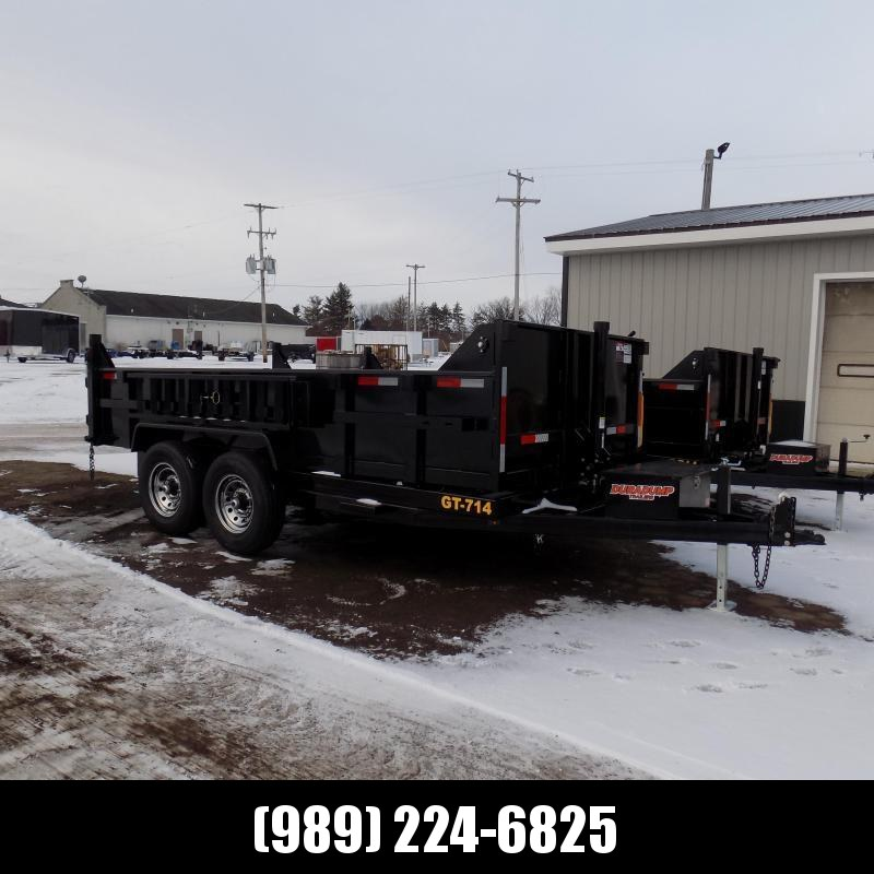 New DuraDump 7' x 14' Dump Trailer With Telescopic Lift - $0 Down & Payments From $129/mo. W.A.C.