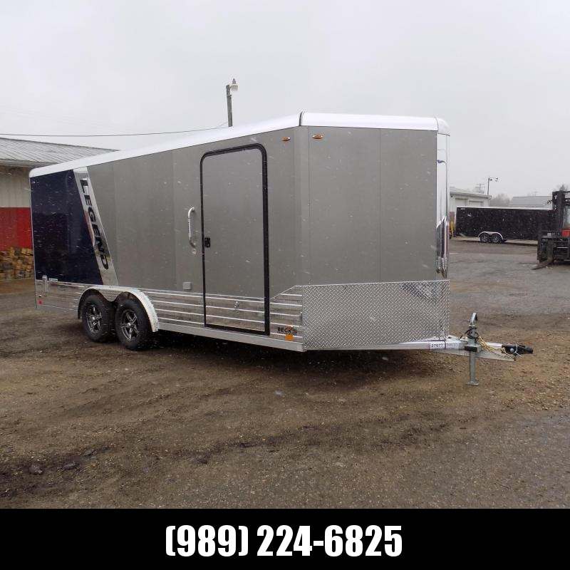 New Legend Deluxe V-Nose 8' x 21' Aluminum Enclosed Cargo Trailer - $0 Down & $159/mo. W.A.C.