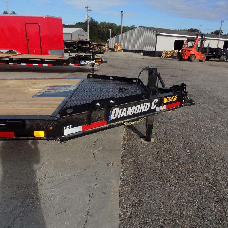 "New Diamond C HDT 82"" x 22' Tilt Deck Equipment Trailer -Torsion Axles - Flexible $0 Down Financing Options Available"