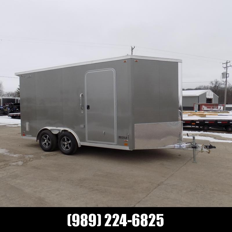 New Legend FTV 8' x 17' Aluminum Cargo Trailer - Perfect For All Your Toys & Cargo - $0 Down Financing Available