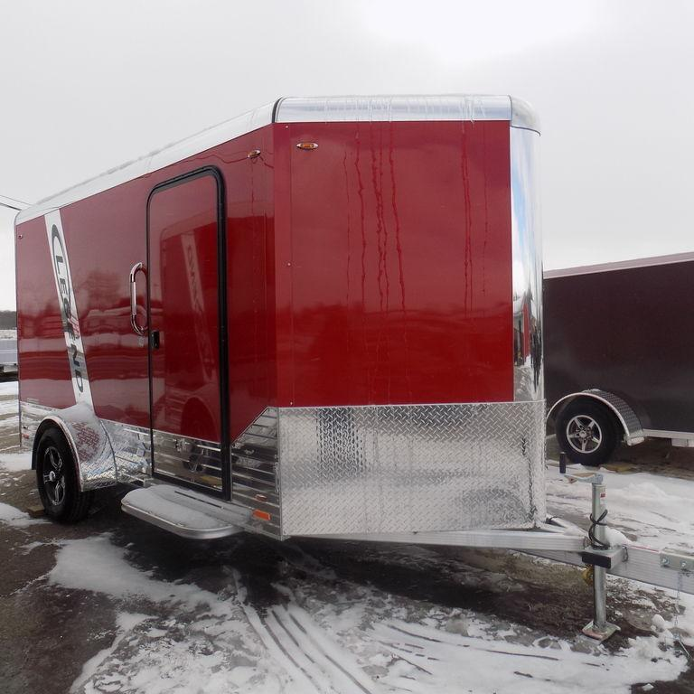 New Legend DVN 6' X 15' Aluminum Enclosed Cargo Trailer For Sale