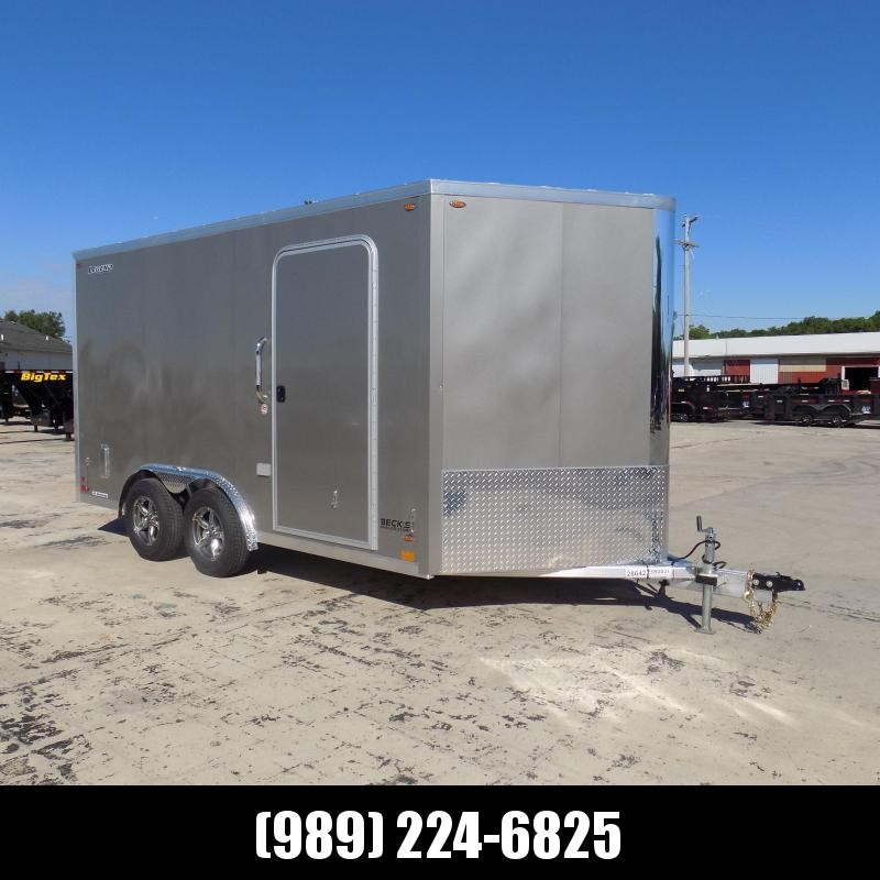 New Legend FTV 8' x 17' Aluminum Cargo Trailer - $0 Down Financing Available