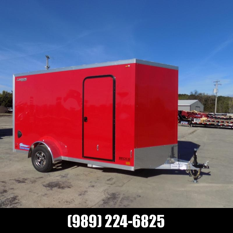 New Legend Thunder 7' x 14' Aluminum Enclosed Cargo Trailer for Sale- $0 Down & Payments From $131/mo. W.A.C.