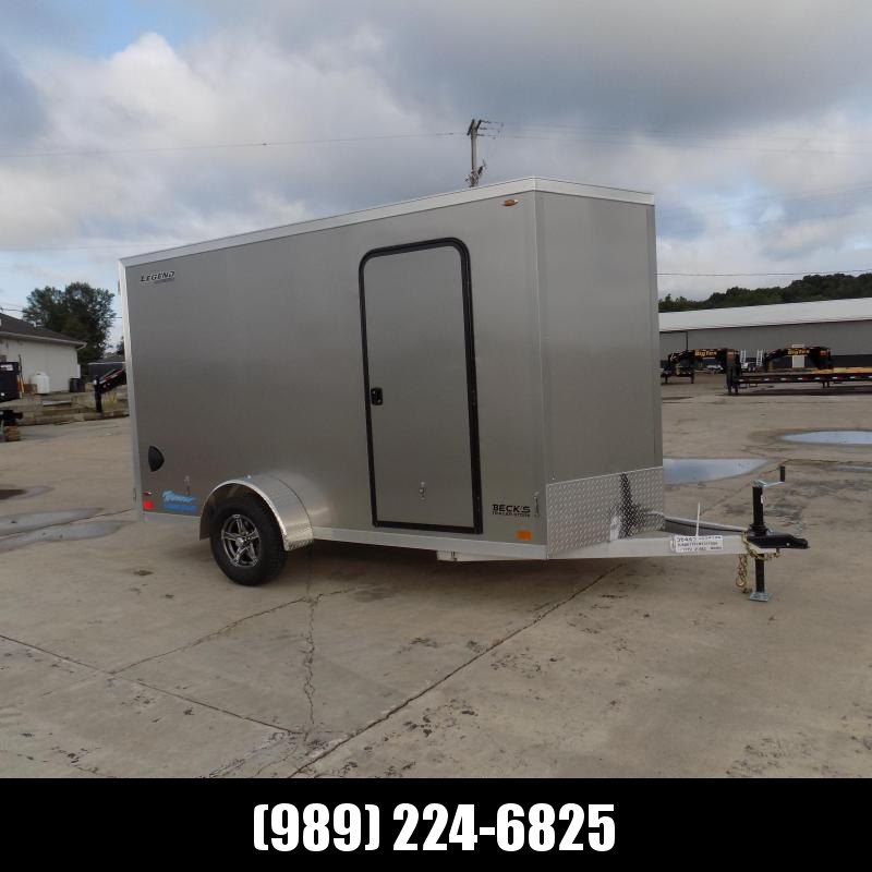 New Legend Thunder 6' x 13' Aluminum Enclosed Cargo Trailer for Sale- $0 Down Payments From $115/Mo W.A.C.