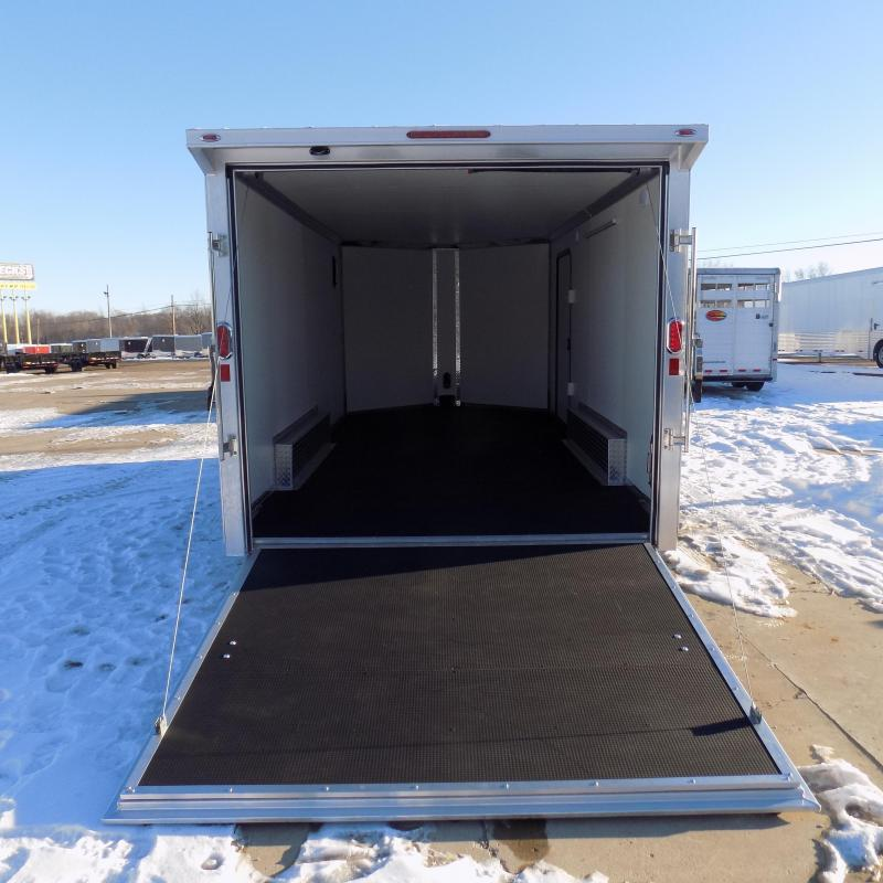 New Legend FTV 8' x 19' Aluminum Enclosed Cargo Trailer - Perfect For All Your Toys & Cargo - Flexible $0 Down Financing Available