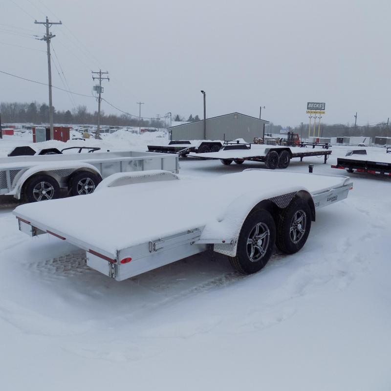 New Legend 7' x 16' Aluminum Open Car Hauler - Torsion Axles - $0 Down & Payments From $127/mo. W.A.C.