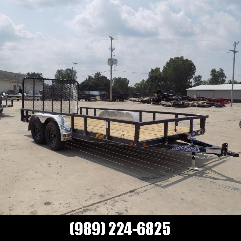 """New Load Trail 83"""" X 16' Tandem Axle Utility Trailer - $0 Down & Payments from $117/mo. W.A.C."""