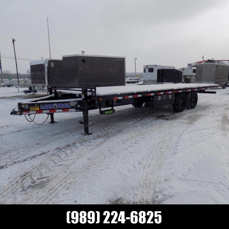"New Load Trail PE24 102"" x 24' Tandem Pintle Hook Equipment Tilt Deck- $0 Down $127/mo W.A.C."