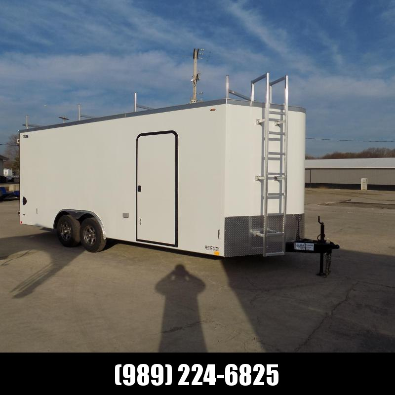 New Legend Trailers Legend Cyclone 8.5' x 22' Enclosed Car Hauler / Cargo Trailer for Sale - $0 Down Payments From $139/mo W.A.C.