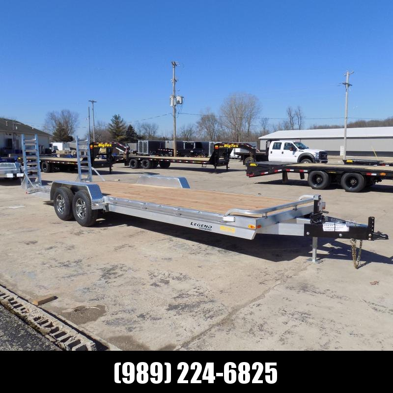 New Legend 7' x 24' Aluminum Equipment Trailer With 5200# Torsion Axles - $0 Down & Payments from $135/mo. W.A.C