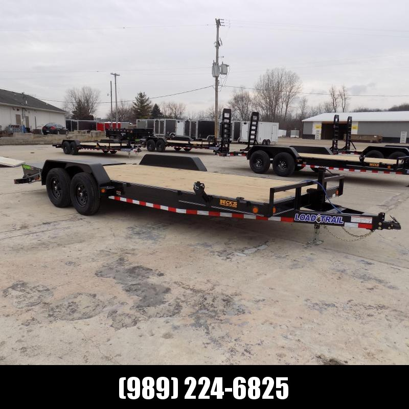 "New Load Trailer 7"" x 20' Car Hauler Trailer With Max Ramps - $0 Down & Payments from $125/mo. W.A.C."