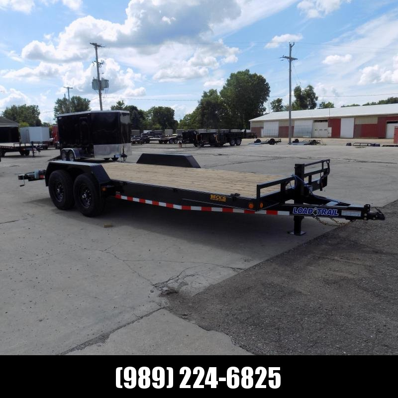 "New Load Trailer 83"" x 20' Car Hauler Trailer With 7K Axles - $0 Down & Payments from $109/mo. W.A.C."
