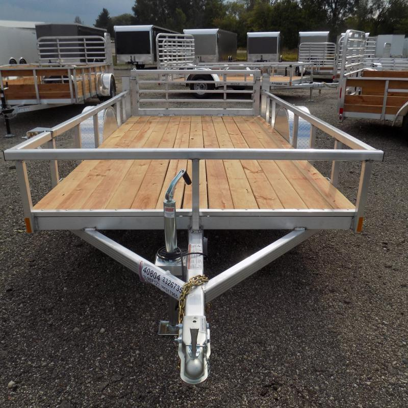 New Legend Open Deluxe 6' x 12' Aluminum Utility - $0 Down & Payments From $87/mo. W.A.C.