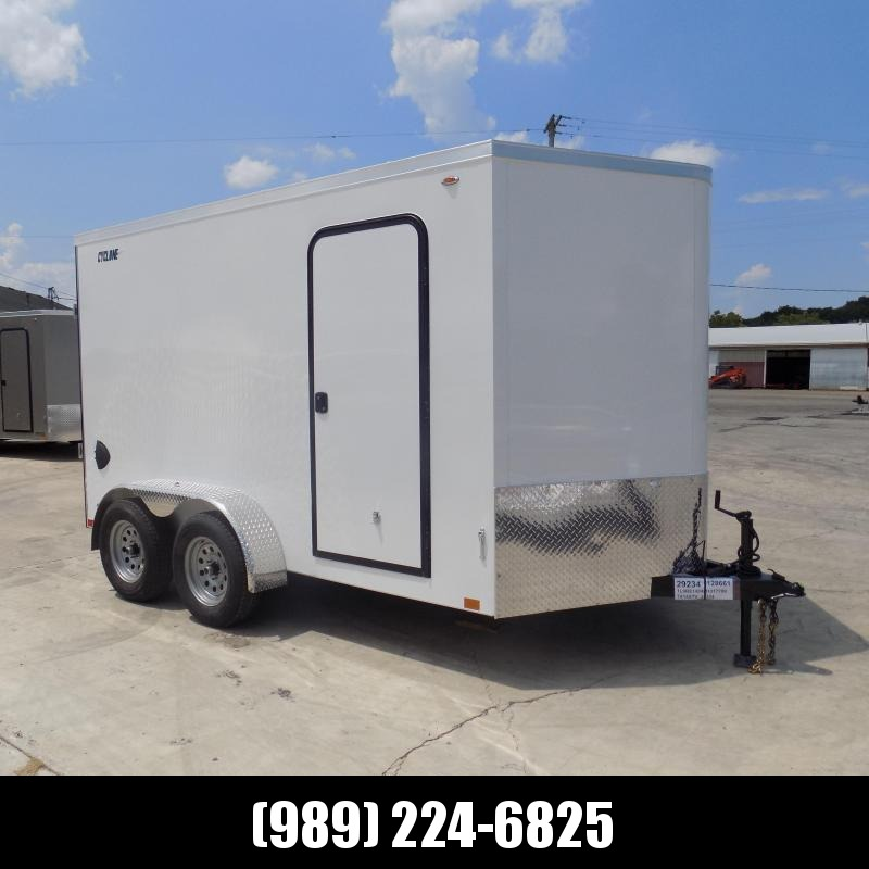 New Legend Trailers Legend Cyclone 7' x 14' Enclosed Cargo Trailer for Sale - $0 Down & Payments From $119/mo. W.A.C.
