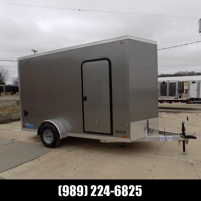 New Legend Thunder 6' x 13' Aluminum Enclosed Cargo Trailer for Sale- $0 Down Payments From $111/Mo W.A.C.