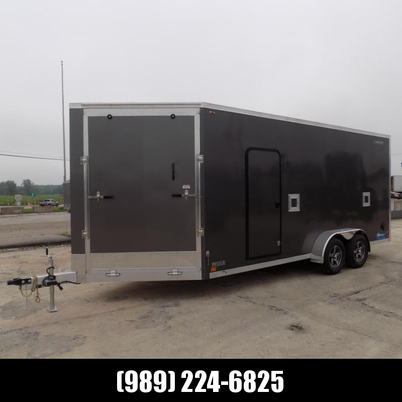 New Legend Thunder 7' x 23' Snowmobile Trailer - $0 Down & Payments From $169/mo. W.A.C
