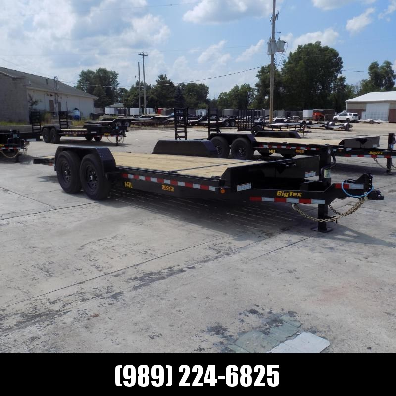 """New Big Tex 80"""" x 20' Tilt Deck Equipment Trailer For Sale - $0 Down & Payments From $117/mo. W.A.C."""