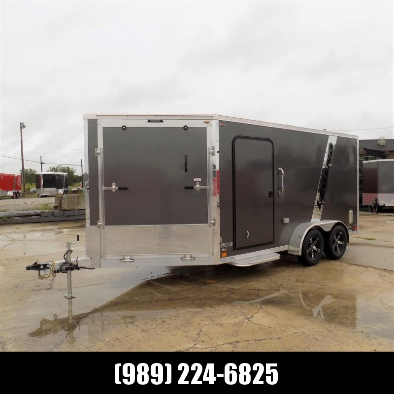 New Legend Explorer 7' x 19' Snowmobile Trailer - $0 Down & Payments From $129/mo. W.A.C - Come See America's Largest Snow/ATV Trailer Inventory!