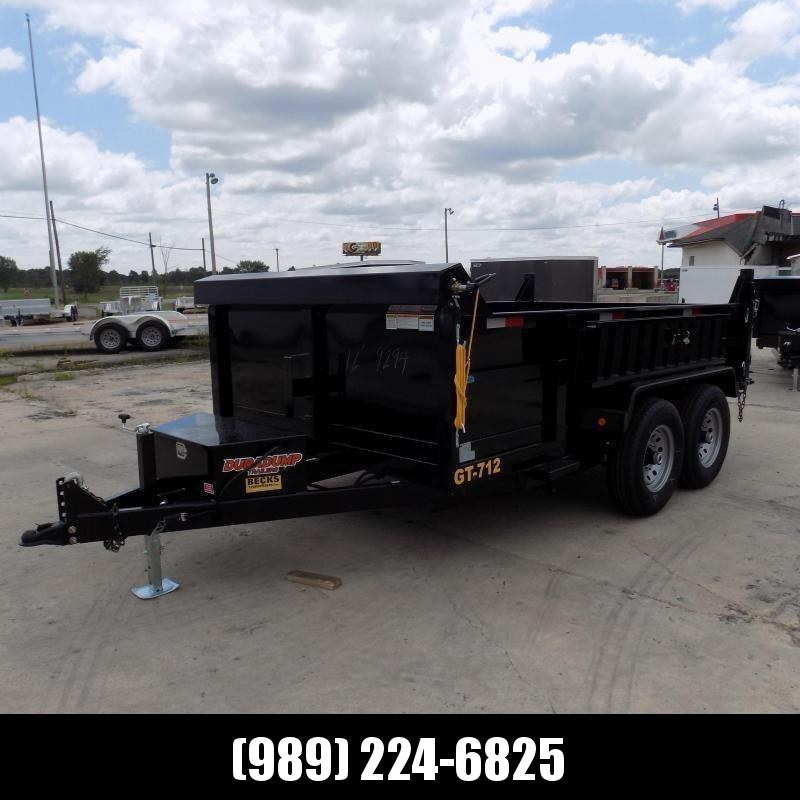 New DuraDump 7' x 12' Dump Trailer For Sale - Payment From $123/mo. With $0 Down W.A.C.