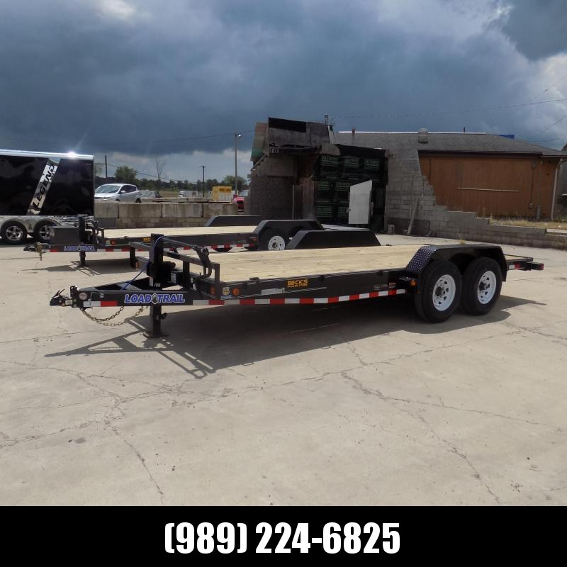 """New Load Trailer 83"""" x 18' Car/Equipment Trailer With 7K Axles - $0 Down & Payments from $109/mo. W.A.C."""