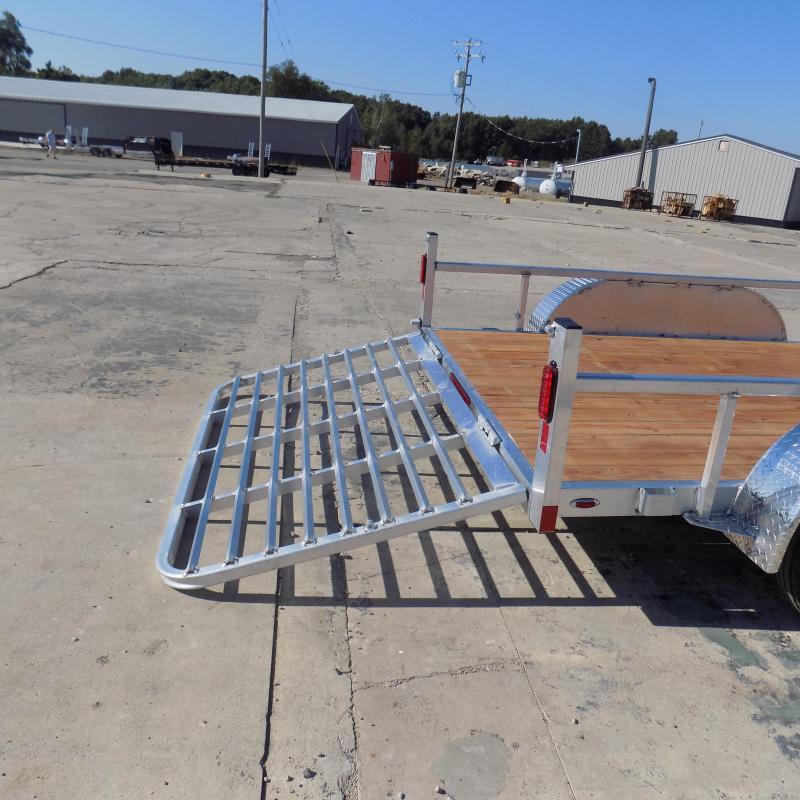 New Legend Aluminum 7' x 14' Open Utility Trailer - $0 Down & $103/mo. W.A.C.