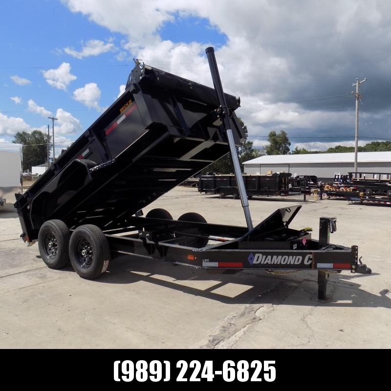 New Diamond C Trailers 7' x 12' Low Profile Dump Trailer - $0 Down With Flexible Financing Available