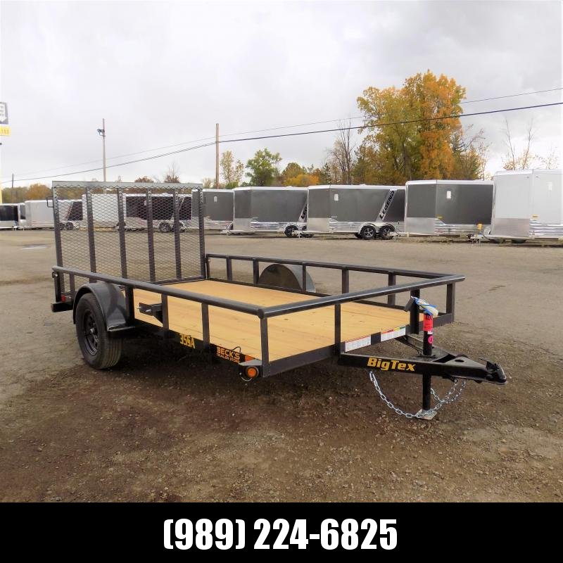 New Big Tex 6' x 12' Utility Trailer For Sale - $0 Down & Payments From $53/mo. W.A.C.