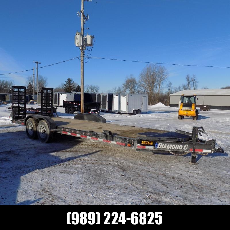 "New Diamond C Trailers LPX 82"" x 22' Equipment Trailer - $0 Down & Payments from $129/mo. W.A.C."