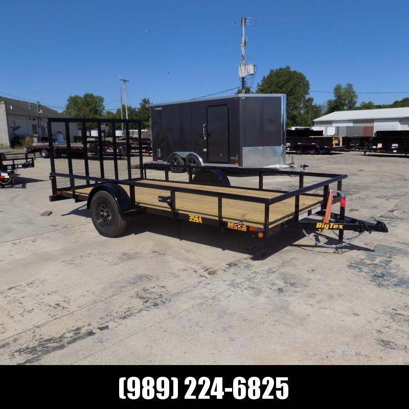 New Big Tex Trailers 7' x14' Open Utility Trailer For Sale