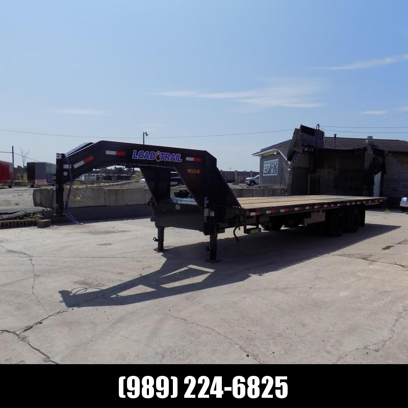 """New Load Trail 102"""" x 30' Gooseneck Tilt Equipment Trailer With 10K Axles - Flexible $0 Down Financing Available"""