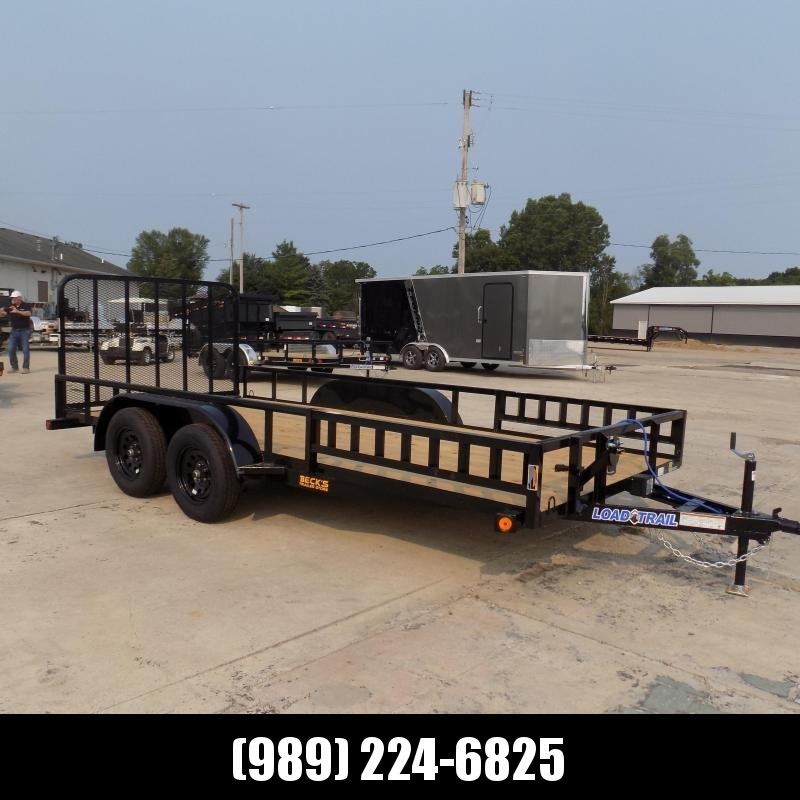 """New Load Trail 83"""" X 16' Tandem Axle Utility Trailer - $0 Down & Payments from $101/mo. W.A.C."""