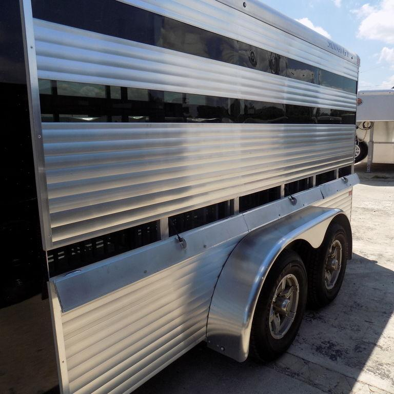 New Sundowner Trailers Showman GT 16' Aluminum Swine Trailer