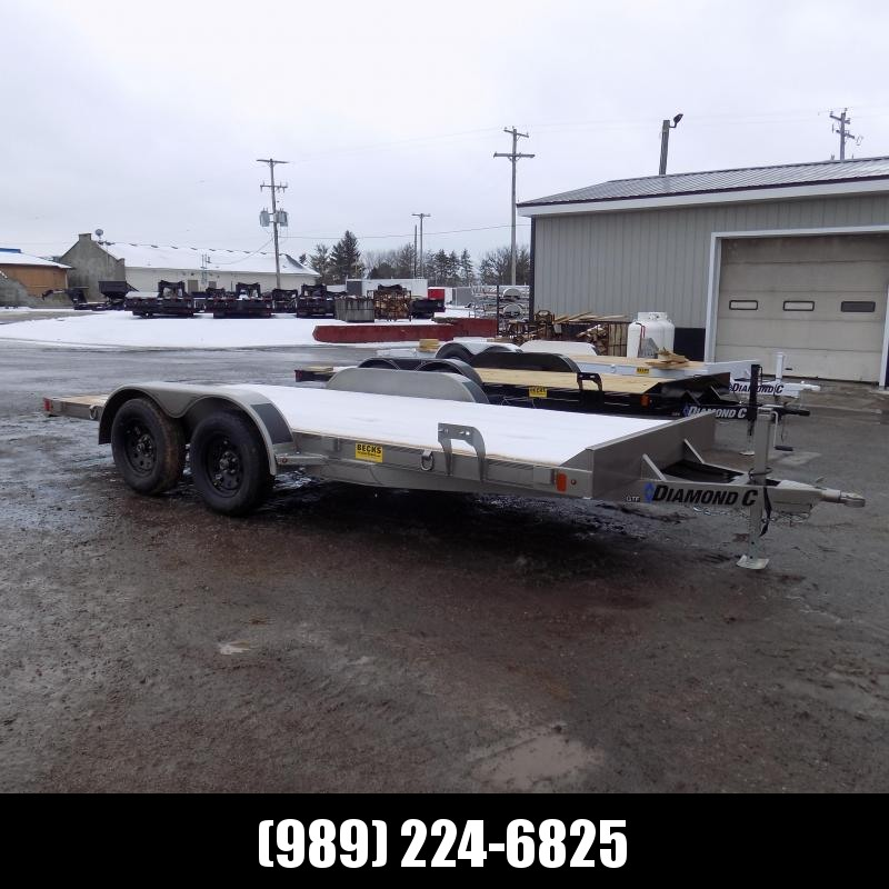New Diamond C Trailers 7' x 16' Open Car Hauler - $0 Down & Payments From $89/mo. W.A.C.
