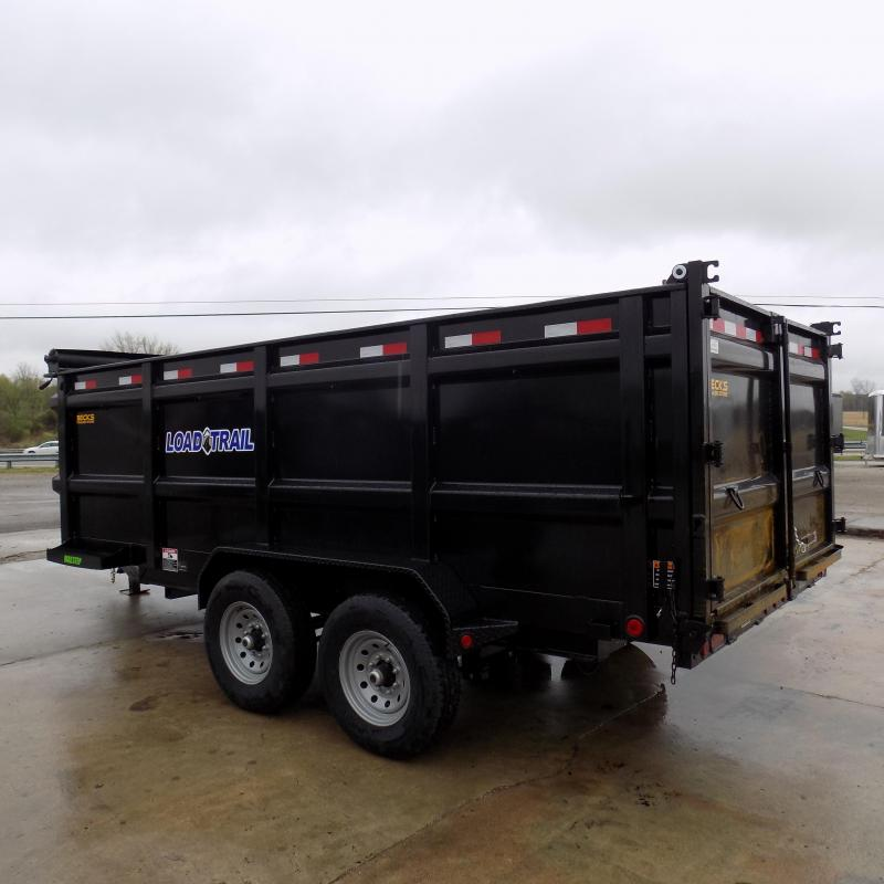 "New Load Trail 83"" x 16' Dump Trailer With 48"" Sides - Flexible $0 Down Financing Available"