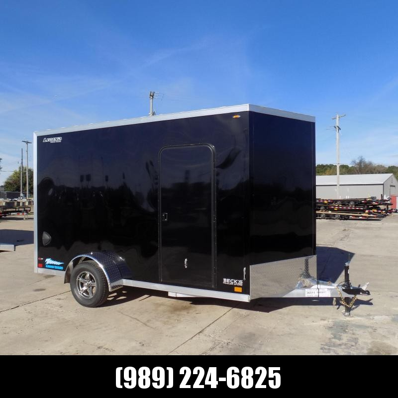 New Legend Thunder 7' x 14' Aluminum Enclosed Cargo Trailer for Sale- $0 Down Payments From $137/Mo W.A.C.
