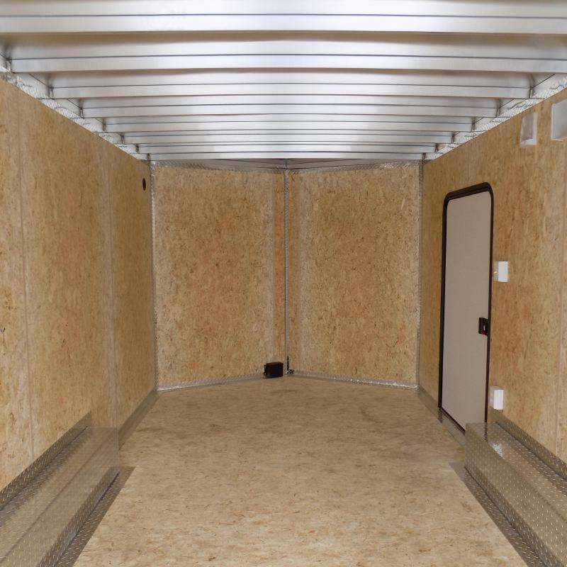 Used Legend Thunder 8.5' X 18' All Aluminum Enclosed Cargo Trailer - STILL JUST LIKE NEW - NEVER ACTUALLY HAULED ANYTHING