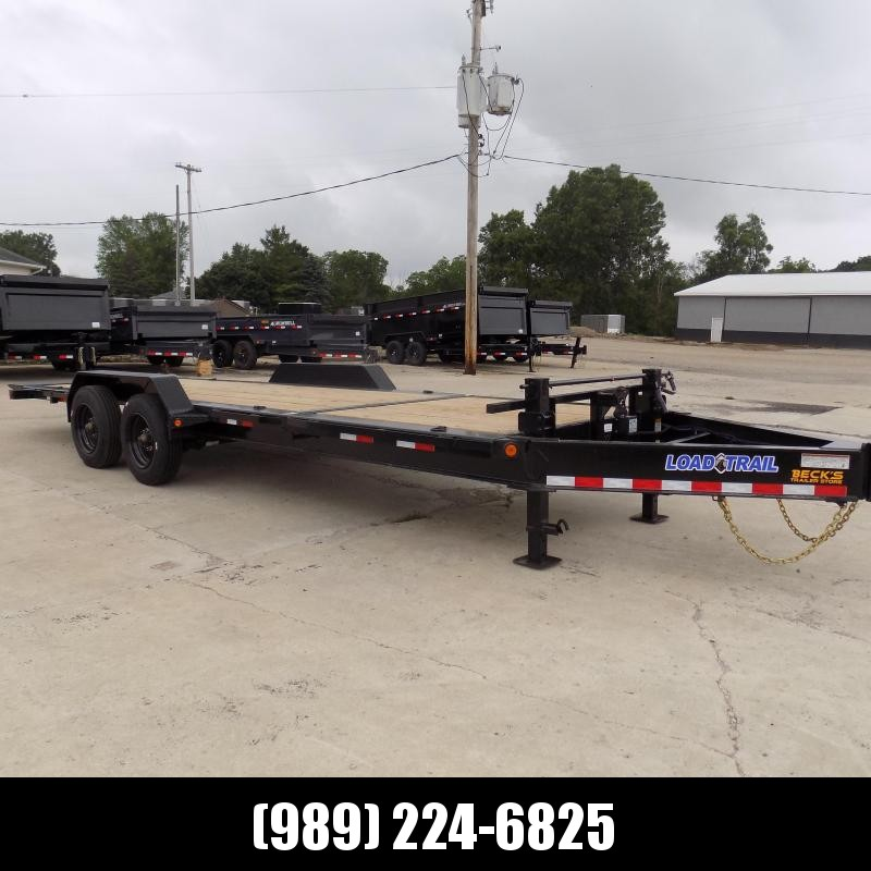 """New Load Trail 83"""" x 22' Tilt Bed Equipment Trailer W/10K Axles - $0 Down & Financing Options Available"""