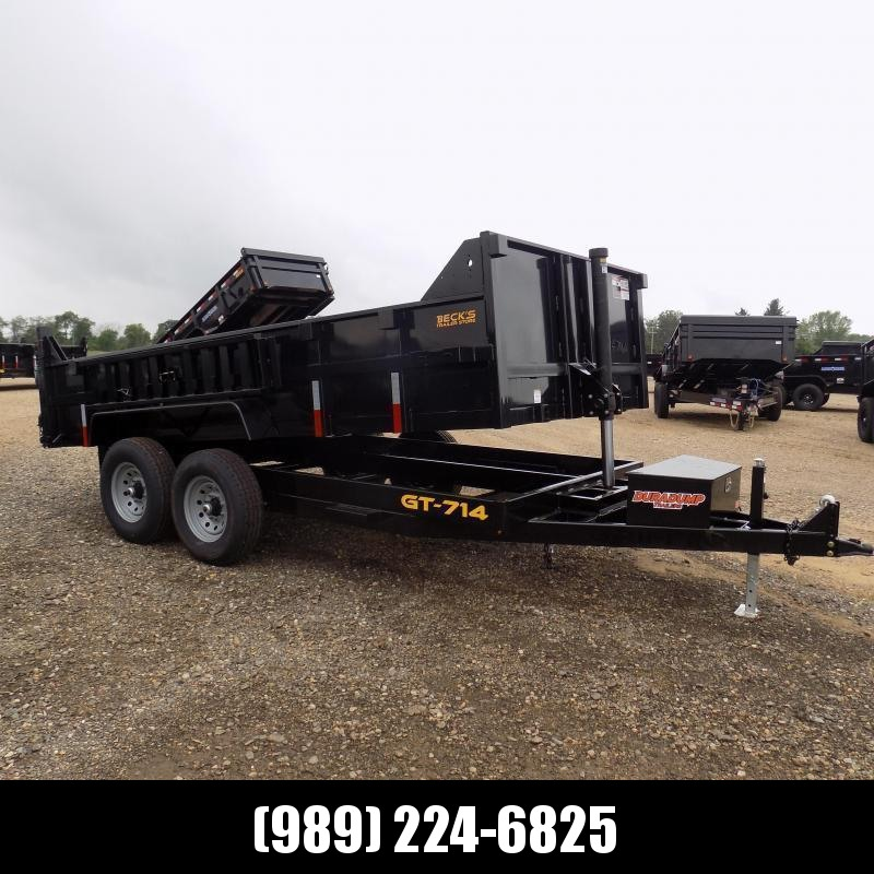 New DuraDump 7' x 14' Dump Trailer For Sale - $0 Down & Payments From $141/mo. W.A.C.