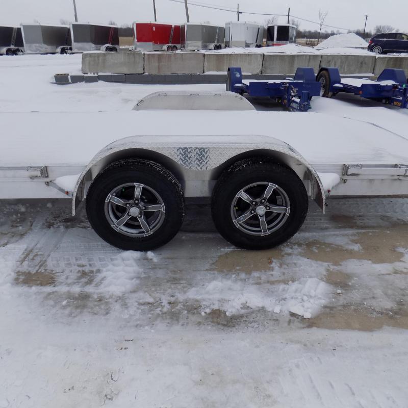New Legend 7' x 18' Aluminum Open Car Hauler - Torsion Axles - $0 Down & Payments From $113/mo. W.A.C.
