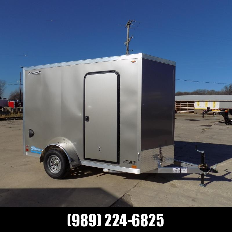 New Legend Thunder 6' x 11' Aluminum Enclosed Cargo Trailer for Sale- $0 Down Payments From $97/Mo W.A.C.