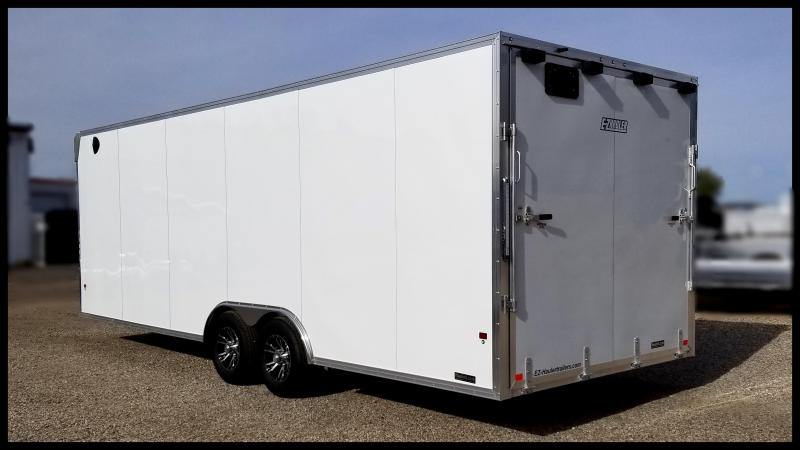 2020 Mission EZ Hauler Enclosed Cargo Trailer