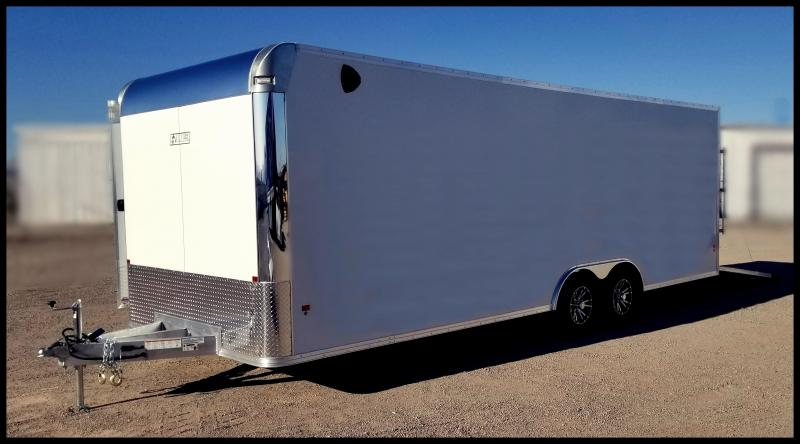 2020 Mission 8 x 28 EZ Hauler Aluminum Enclosed Cargo Trailer