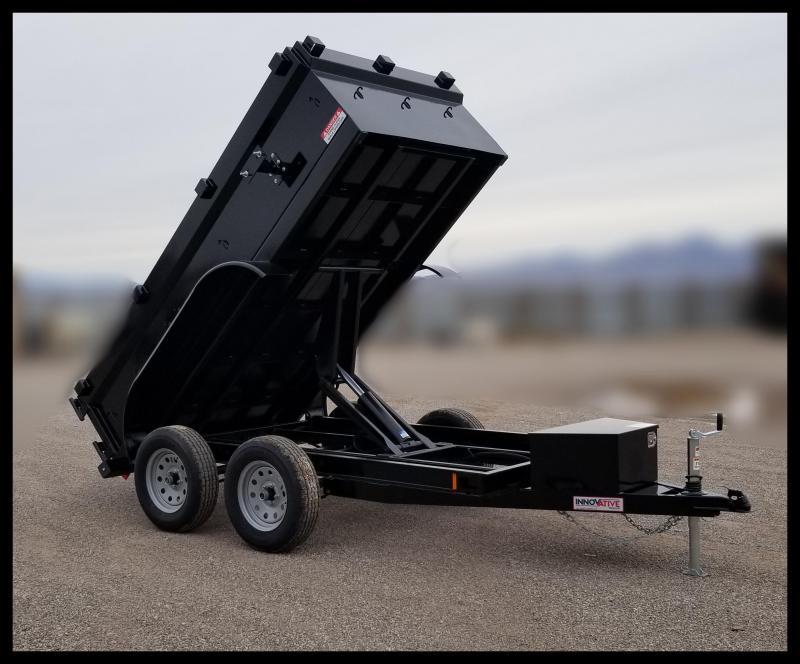 "2020 Innovative Trailer Mfg. 60""x10 Dump Trailer Dump Trailer"