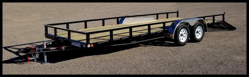 2020 PJ Trailers 83 x 20 Utility Trailer