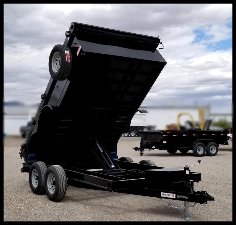 2020 Innovative  83 x 12 Comp Dump Dump Trailer
