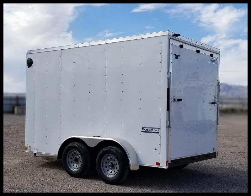 2020 Haulmark 7 x 12 Enclosed Cargo Trailer